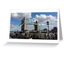 The Peaceful Tower Bridge Greeting Card
