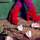 Red Shoes & Pink Roses by Shannon Kerr