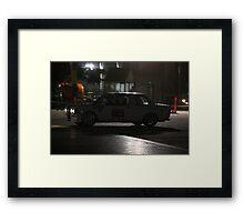 Williams' Beautiful BMW Alpina Framed Print