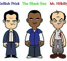 GTA 5 Characters by tevfiktoprak