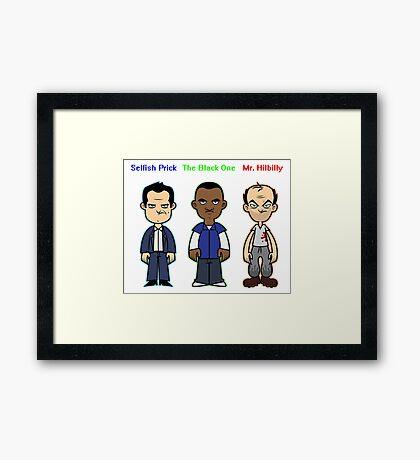 GTA 5 Characters Framed Print