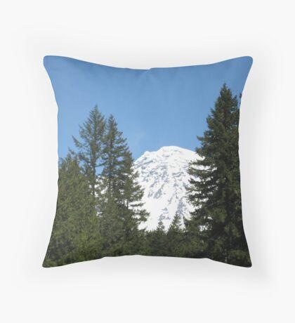 Mount Rainier, Washington USA Throw Pillow