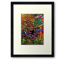 His Guiding Angel Framed Print