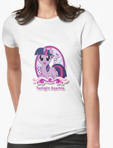 Twilight Sparkle Icon Womens Fitted T-Shirt