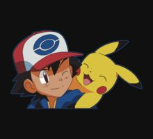 Pikachu and Ash Kids Clothes