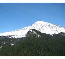Mount Rainier, Washington USA Photographic Print