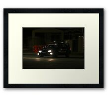 SKR Evo Flying Framed Print