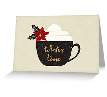 Winter Time Greeting Card