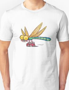 Dragonfly loves dragons Unisex T-Shirt