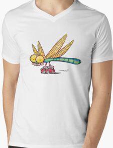 Dragonfly loves dragons Mens V-Neck T-Shirt