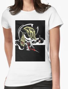 Awesome Applejack  Womens Fitted T-Shirt