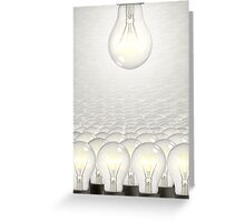 68. Light Bulbs Us Greeting Card