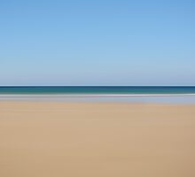 Minimalist Beach - Cornwall  by Peter Towle