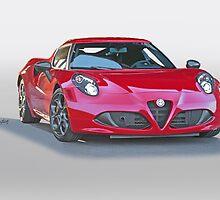 2015 Alfa Romeo C4 Coupe by DaveKoontz