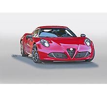 2015 Alfa Romeo C4 Coupe Photographic Print