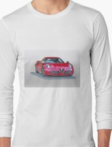 2015 Alfa Romeo C4 Coupe Long Sleeve T-Shirt