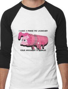 Pinkie Launcher Men's Baseball ¾ T-Shirt