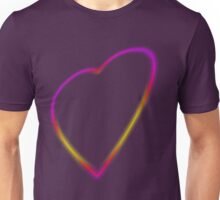 Glowing Heart  Unisex T-Shirt