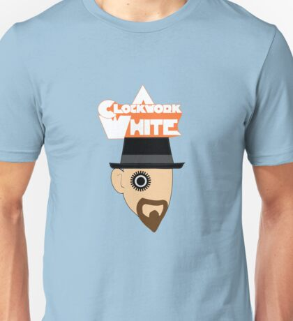 A Clockwork White Unisex T-Shirt