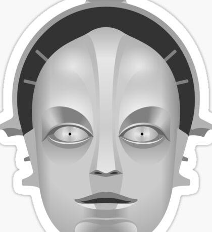 Metropolis Robot Sticker