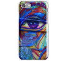 EYE WALL GRAFFITY iPhone Case/Skin