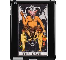 Tarot Card - The Devil iPad Case/Skin