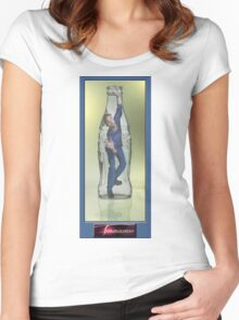 44.Bottled Women's Fitted Scoop T-Shirt