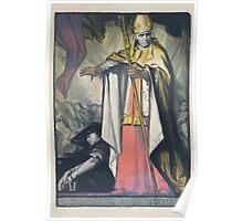 Le Cardinal Mercier protége la Belgique Poster