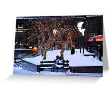 Montreal - Christmas Holidays Greeting Card