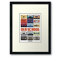 Cassettes Framed Print