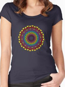 Africa Mandala Women's Fitted Scoop T-Shirt