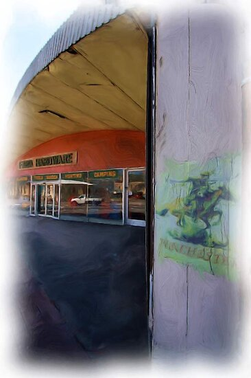 Wolverine movie set, FARO Hardware Store, Picton NSW by Ian Ramsay