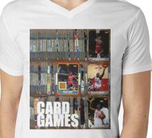 Card Games Mens V-Neck T-Shirt