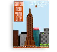 Super New York Comic Con 2012 Metal Print