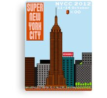 Super New York Comic Con 2012 Canvas Print