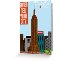 Super New York Comic Con 2012 Greeting Card