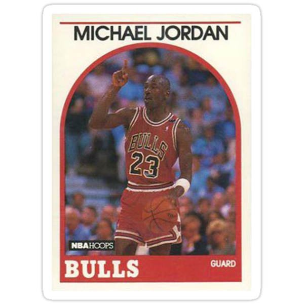 Jordan Trading Card by projone