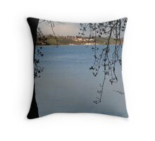 Meersburg Lake Constance See City Landscape Throw Pillow
