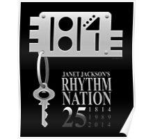 Rhythm Nation's 25th anniversary Poster