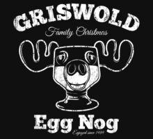 Griswold Christmas Egg Nog One Piece - Short Sleeve