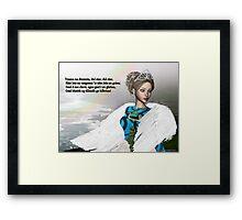 Trasna na dTonnta (Across the Waves) Framed Print