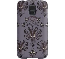 Haunted Mansion - the wallpaper eyes Samsung Galaxy Case/Skin