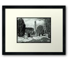 Irish ruins Framed Print