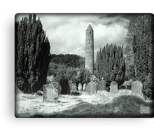 Irish ruins Canvas Print