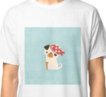 Peg Legged Pug Classic T-Shirt