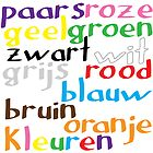 Dutch colour words (print only) by Morag Anderson