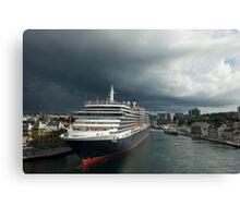 Queen Victoria, Stavanger, Norway. Canvas Print