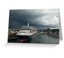 Queen Victoria, Stavanger, Norway. Greeting Card