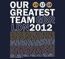 Our Greatest Team 2012 One Piece - Long Sleeve