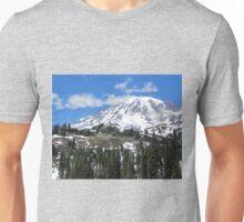 Paradise Inn from afar at Mt. Rainier July 2014 Unisex T-Shirt